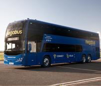 Los autocares de dos pisos Plaxton agregan capacidad para el megabus