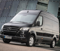 25 años de innovación: la Sprinter de Mercedes-Benz está de aniversario