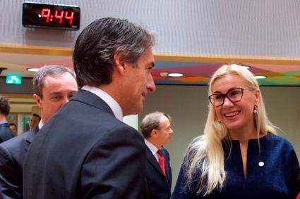 Iñigo de la Serna apoya el sistema de transporte español en Bruselas