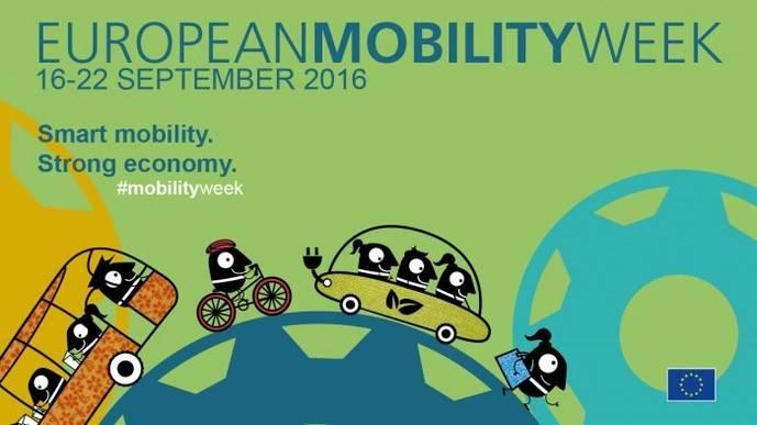 El 16 de septiembre comienza la Semana Europea de la Movilidad