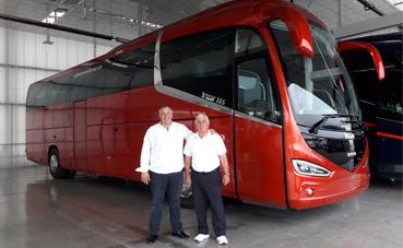 Autocares Serena Travel S.L., incorpora una unidad Scania