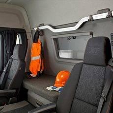 La cabina del Scania S.