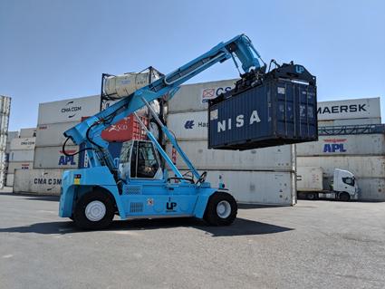 Setemar adapta su flota de maquinaria a una mayor eficiencia energética