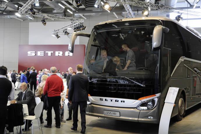 El MultiClass de Setra se va de viaje por Alemania