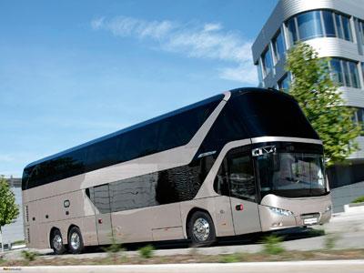 El Neoplan Skyliner gana este año la International Bus Competition