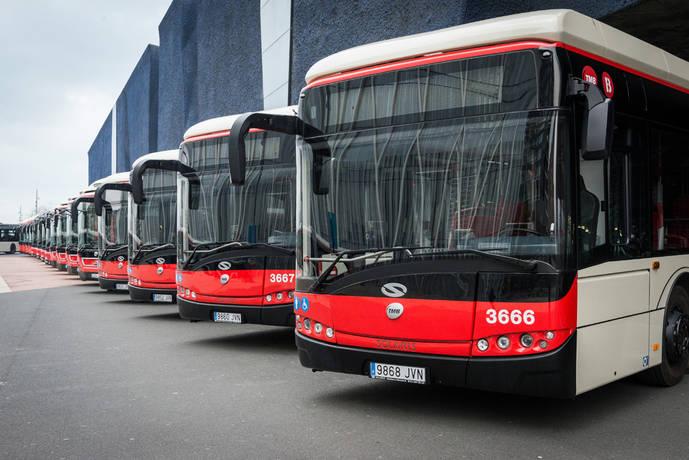Solaris entrega a TMB 25 autobuses Urbino Híbridos