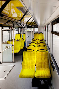 Interior del nuevo Solaris Urbino.
