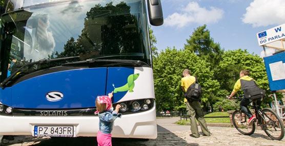 Cuarta nueva generación de autobuses Solaris entregados a Martin Geldhauser