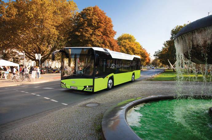 12 nuevos autobuses de Solaris para la ciudad polaca de Ostróda