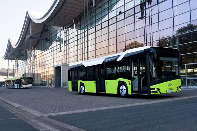 Una ciudad polaca recibe 14 Solaris Urbino de nueva generación
