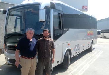 Somauto entrega un Navigo TH 8.4 a Autocares Rovira
