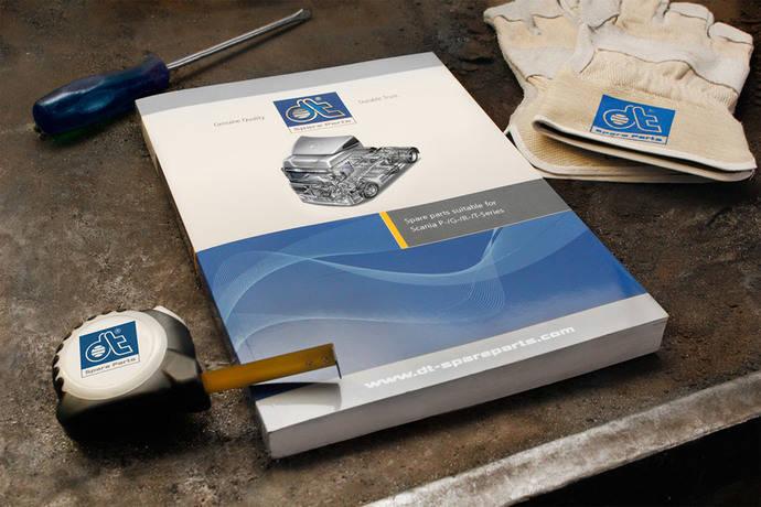 Nuevo catálogo para camiones Scania de DT Spare Parts