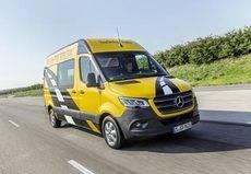 Mercedes-Benz celebra los 25 años de la Sprinter, líder en seguridad