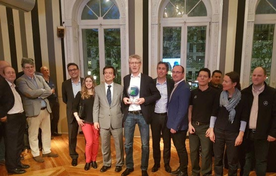 El Sprinter 75 de Mercedes-Benz gana el 'Minibús Internacional del año 2019'