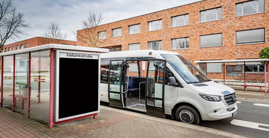 Transporte regular con las ventajas y la experiencia de una Sprinter