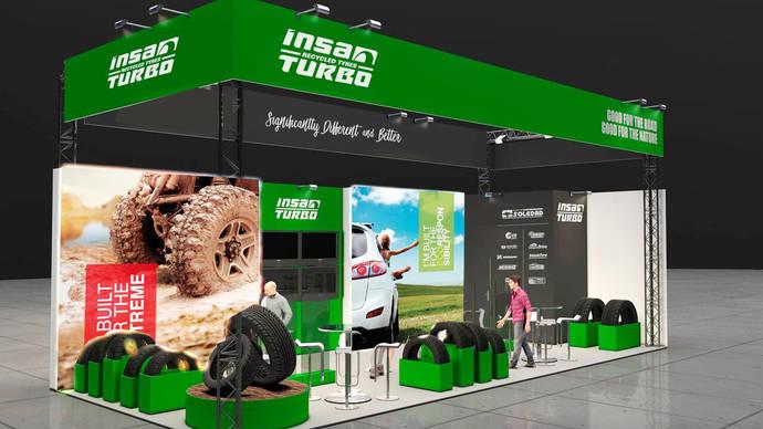 Insa Turbo decide acudir a la feria alemana The Tire Cologne 2018