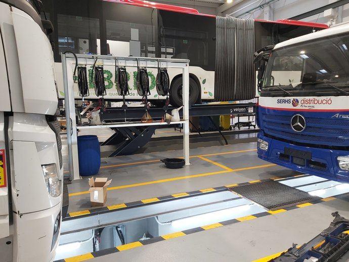 Stern Motor: nuevo taller para Mercedes-Benz y FUSO en Barcelona