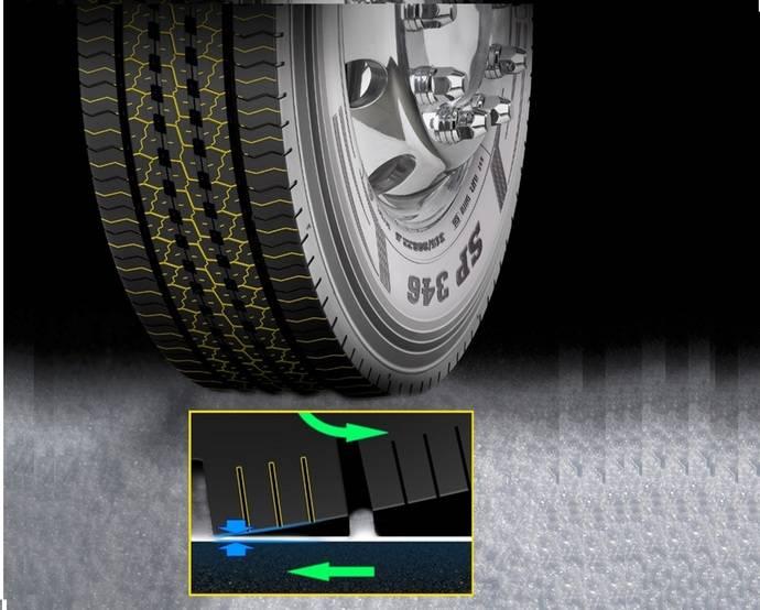 Nuevos neumáticos de camión Dunlop que ayudan a enfrentarse al invierno