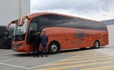 Autocares Iberobus amplía su flota con Sunsundegui