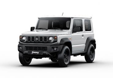Suzuki presenta la versión comercial ligero del todoterrero Jimny