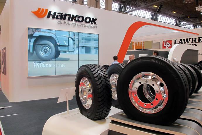 Hankook muestra neumáticos para comerciales en el Salón de Birmingham