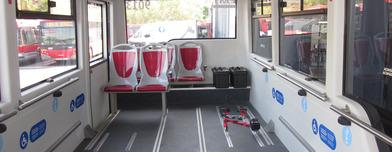La EMT de Valencia redobla su apuesta por la movilidad reducida