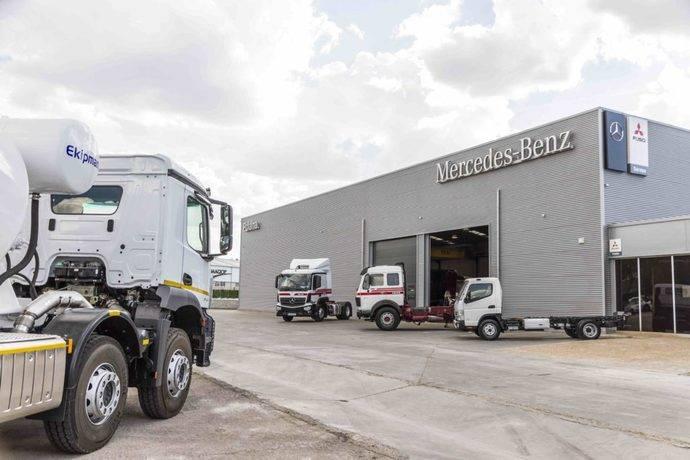 Grupo Polaina abre Taller Autorizado Mercedes-Benz Trucks en Arganda
