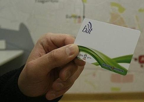 Álava incorpora la tarjeta BAT como medio de pago en el transporte