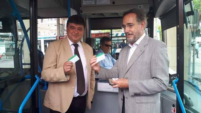 Menos precio en buses de Huelva con tarjeta del Consorcio