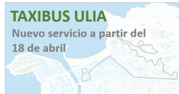 Nuevo servicio Tb6 taxibús Ulia a la demanda