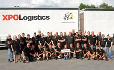 XPO Logistics, presente en el Tour de Francia por 38º año consecutivo