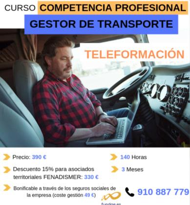 Fenadismer lanza su pionera Plataforma de Teleformación para el Transporte