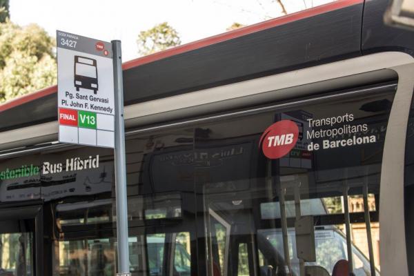 La nueva red de bus de TMB se terminará de implantar entre el 2017 y el 2018