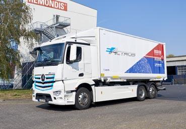 Mercedes-Benz abre la segunda fase de pruebas del eActros en Alemania