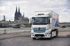 El nuevo eActros en Colonia.