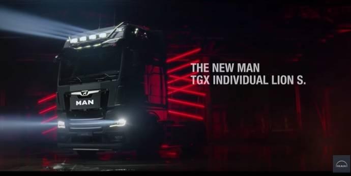 Estreno mundial virtual: MAN descubre el TGX Individual Lion S en YouTube