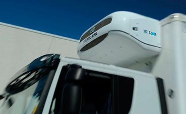 Llegan ya equipos frigoríficos híbridos para camión de Thermo King