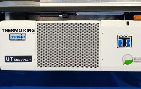 Thermo King presenta sus sistemas de refrigeración híbridos para camión