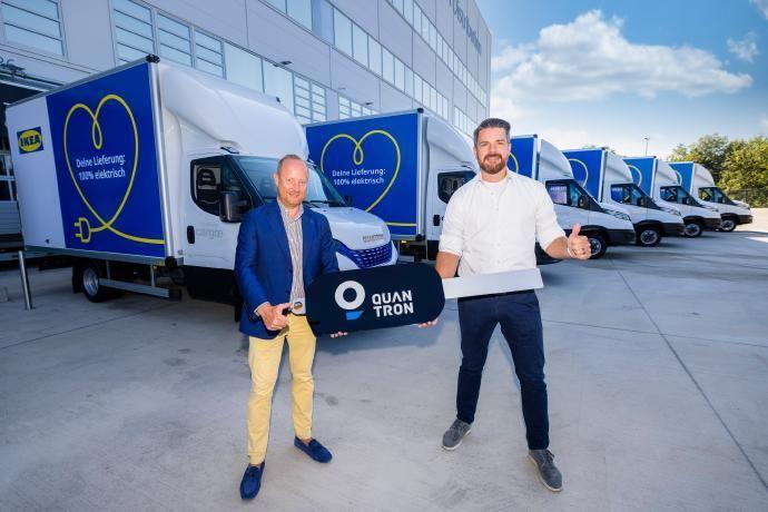 Ikea recibe 30 furgonetas eléctricas de Quantron