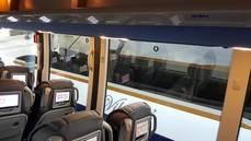 Un autobús de la flota Monbús