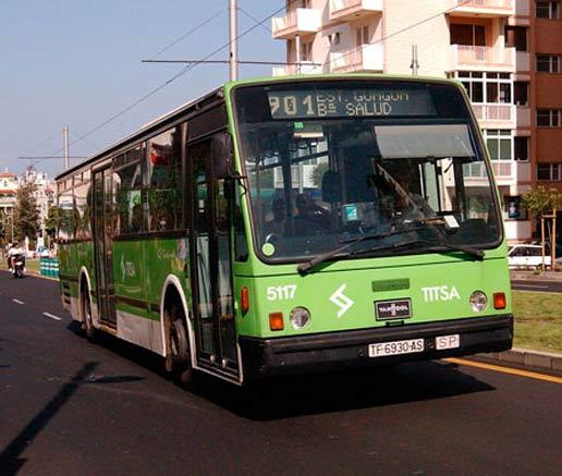 TITSA compra diez nuevos autobuses articulados