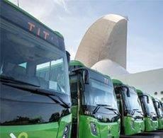 Titsa reducirá en 748 toneladas la emisión de CO2
