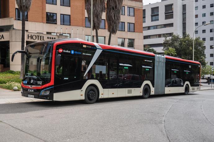 TMB y MAN: sostenibilidad y pruebas del Lion's City en Barcelona