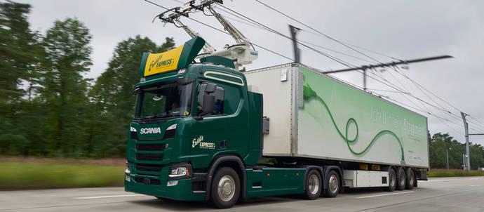 Scania suministrará 15 camiones para autopistas eléctricas alemanas