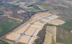Nueva conexión viaria del Parque Logístico Industrial de Tordesillas con la A-6