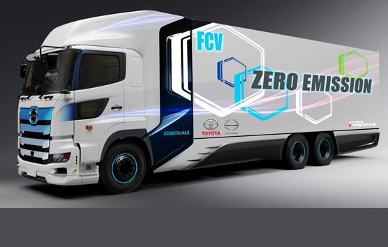 Toyota e Hino probarán su camión de hidrógeno desde la primavera de 2022