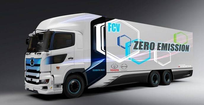 El modelo sobre el que trabajan es un Hino Profia FR1AWHG de 25 toneladas, que tendrá una autonomía de unos 600 kilómetros.