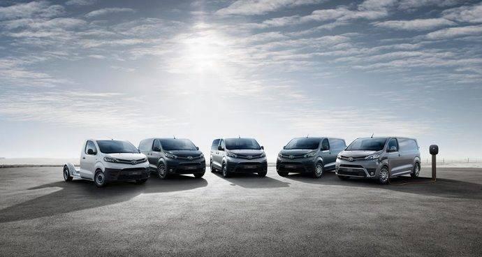 La nueva gama de Toyota Proace para 2021.