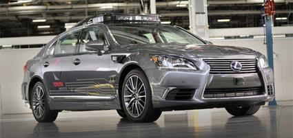 Nueva conducción automatizada de Toyota
