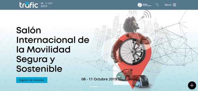 La feria Trafic 2019, de Ifema, decide estrenar nueva página web
